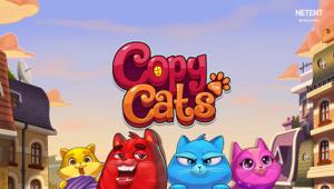 Netent Slot Copy Cats Logo