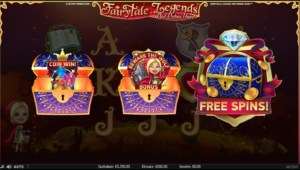 netent casino Fairytale Legends Red Riding Hood feature wählen