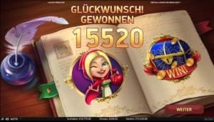 netent casino Fairytale Legends Red Riding Hood hoher gewinn