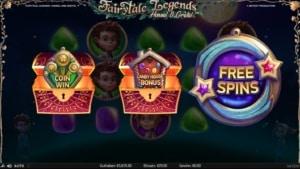 Netent Casino Fairytale Legends Hansel and Gretel Bonus wählen