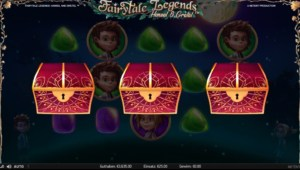 Netent Casino Fairytale Legends Hansel and Gretel Scatter