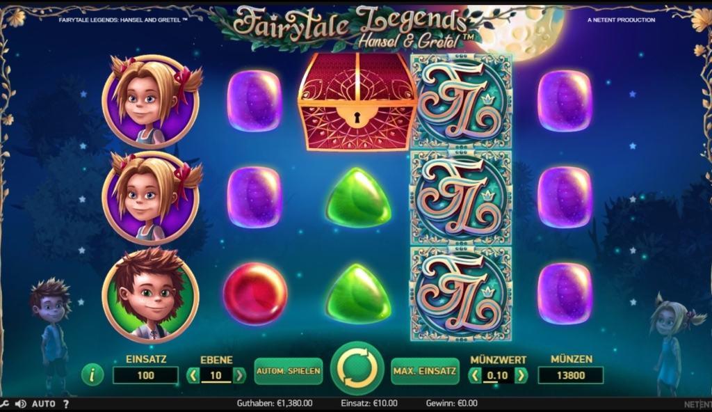 Netent Casino Fairytale Legends Hansel and Gretel Spielübersicht