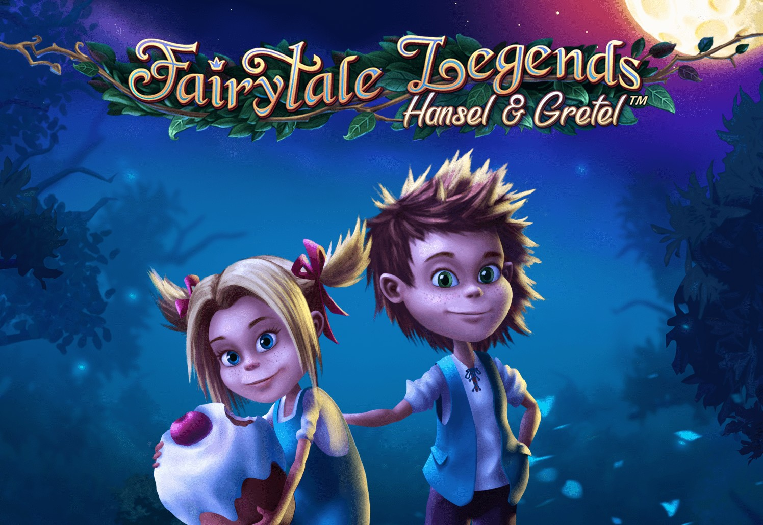 Fairytale Legends Hansel and Gretel netent casino logo