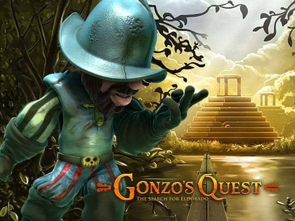 Gonzos Quest Netent Casino Logo