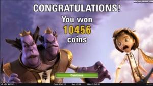 ack and the Beanstalk Netent Casino big win