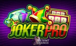 Joker Pro Netent Casino Logo