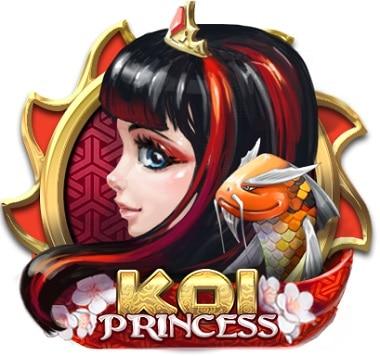 Koi Princess Netent Casino Logo