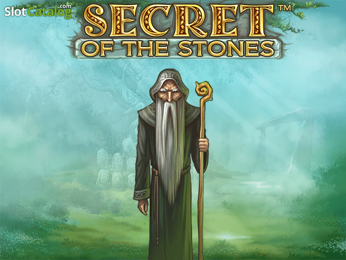 Secret of the Stones Netent Casino Logo