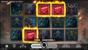 netent casino Warlords Crystals of Power bonus