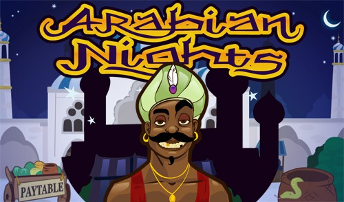 netent jackpot slot arabian nights logo