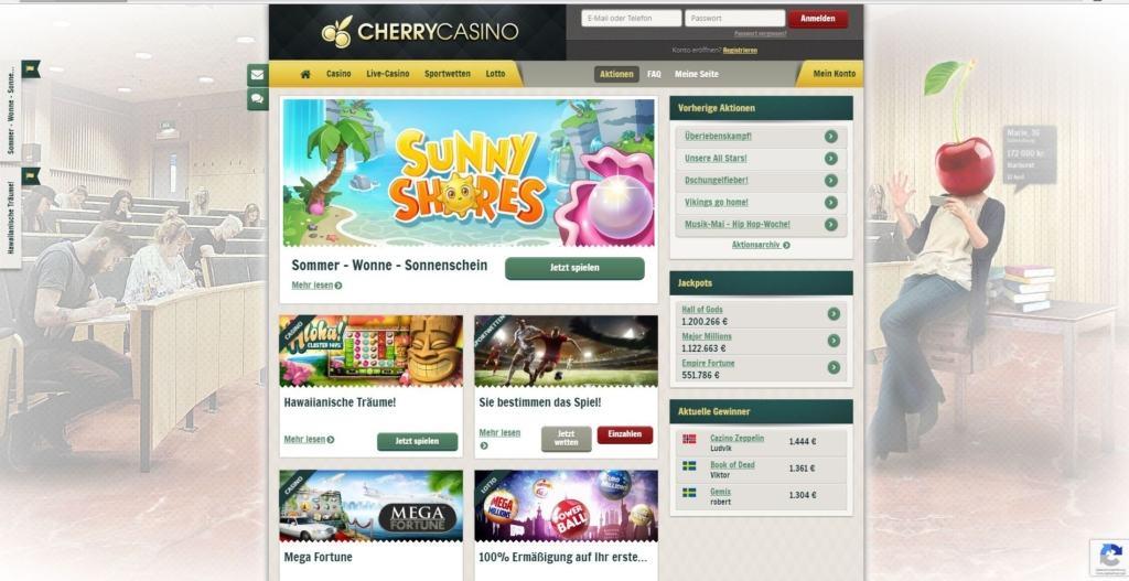 Cherry Casino Bonusangebote