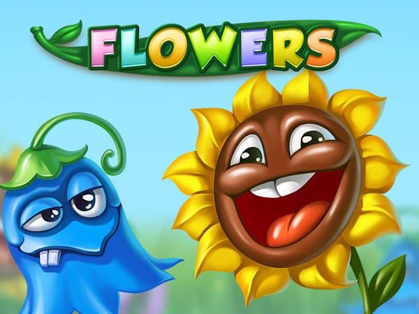 Flowers Netent Casino Logo