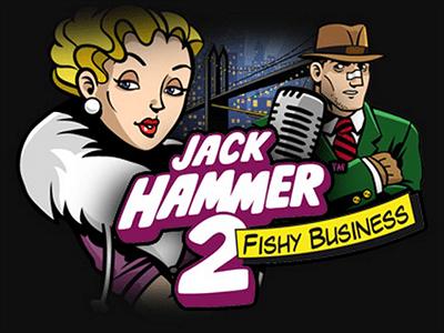 Jack Hammer 2 Netent Casino Logo
