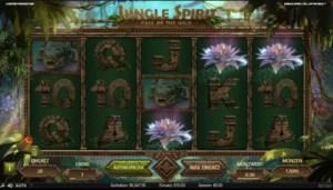 Netent Casino Jungle Spirit: Call of the Wild Scatter Symbole