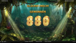 Netent Casino Jungle Spirit: Call of the Wild hoher Gewinn