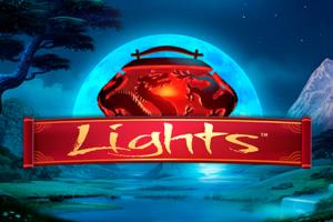lights netent casino spiel logo