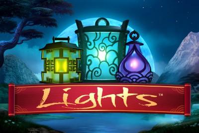 lights netent casino logo