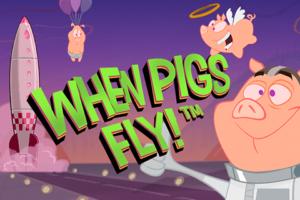 Netent Slot When Pigs Fly Logo