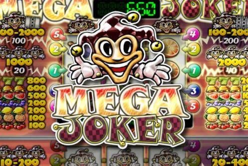 netent jackpot slot mega joker logo