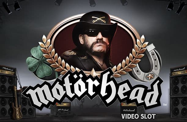 Motörhead netent casino logo