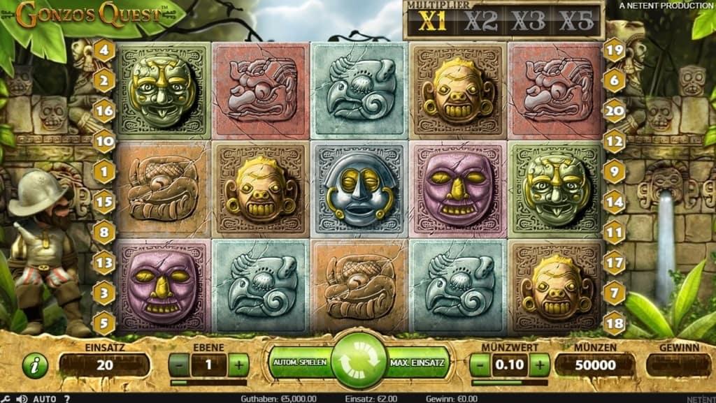 Gonzos Quest Netent Casino Spielübersicht