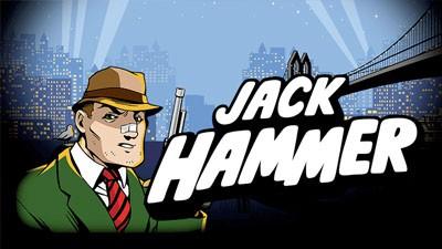 Jack Hammer Netent Casino Logo