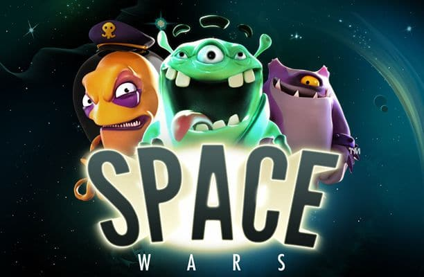 Space Wars Netent Casino Logo
