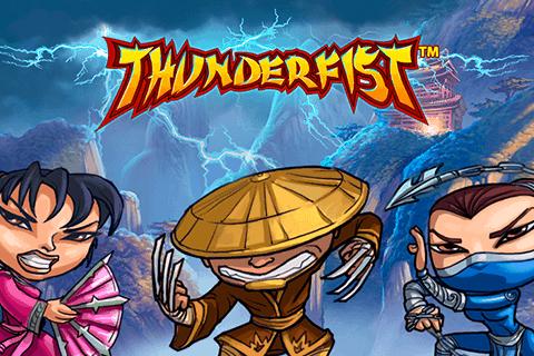 Thunderfist Netent Casino Logo