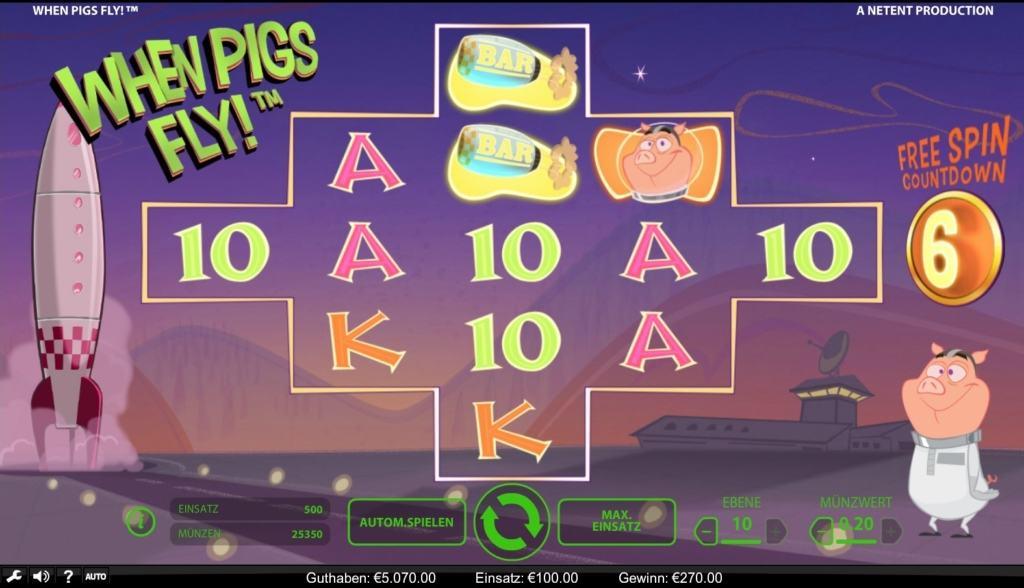 netent casino when pigs fly spielübersicht