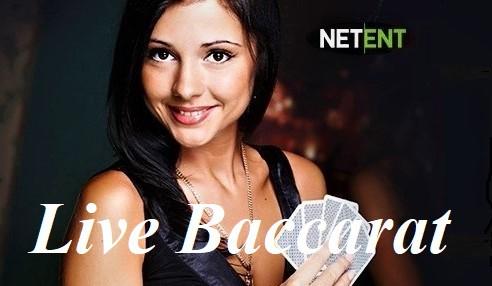 netent live baccarat logo