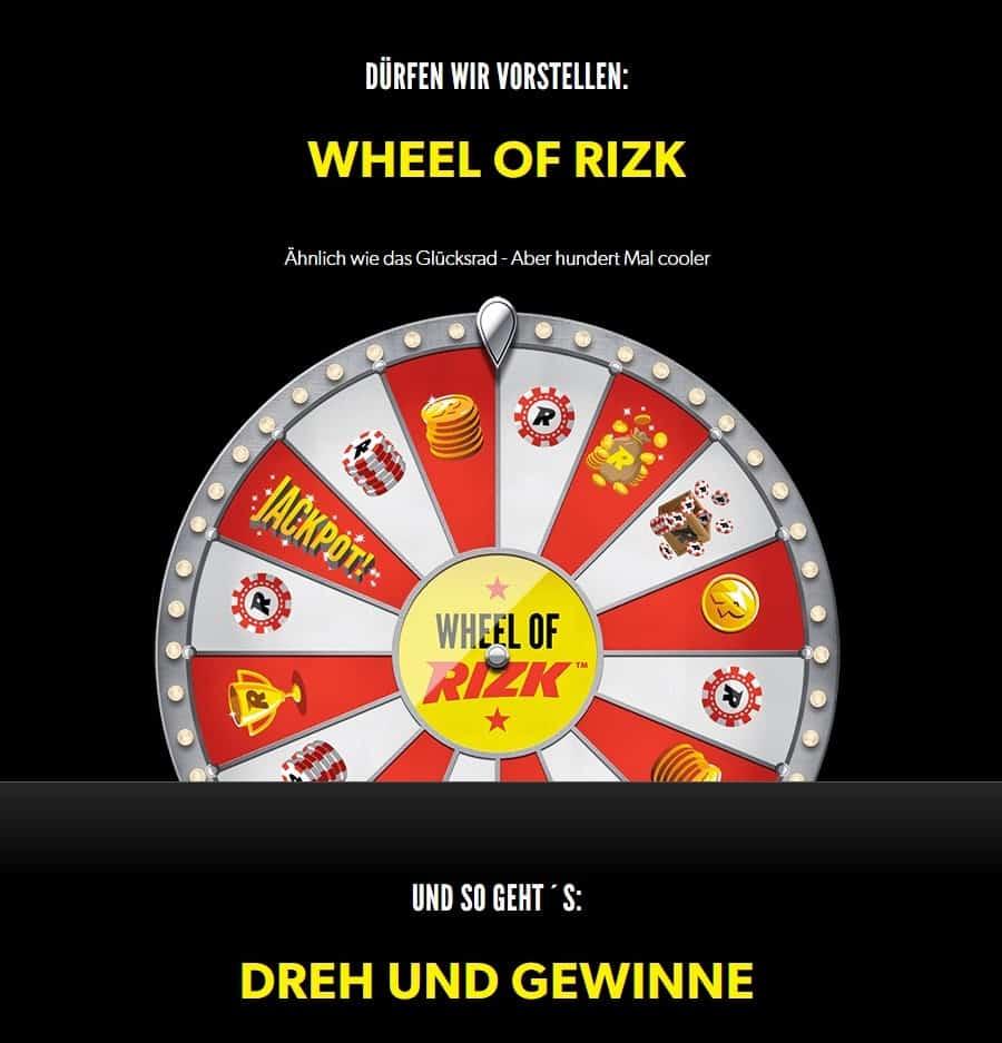 rizk netent casino wheel of rizk