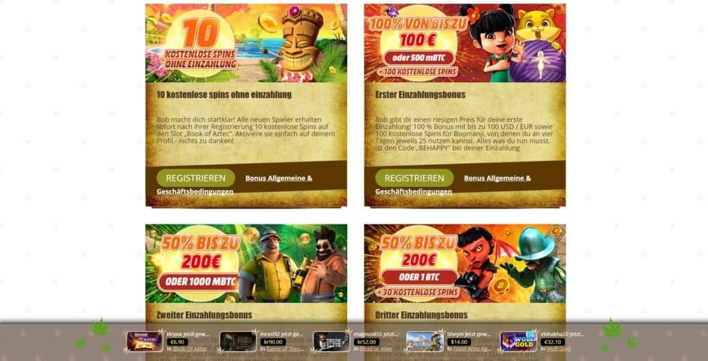 Bob Netent Casino Bonuskalender