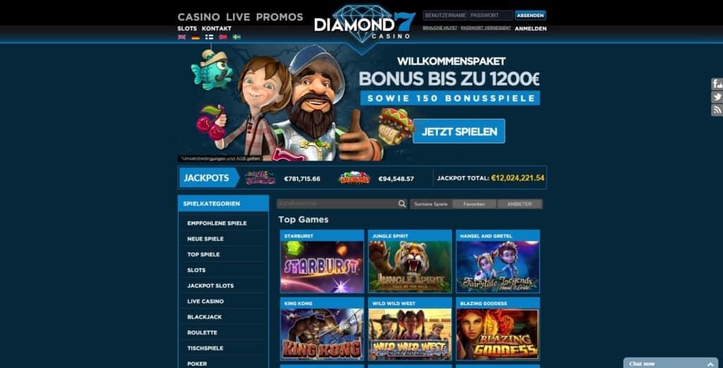 Diamond 7 Netent Casino Startseite