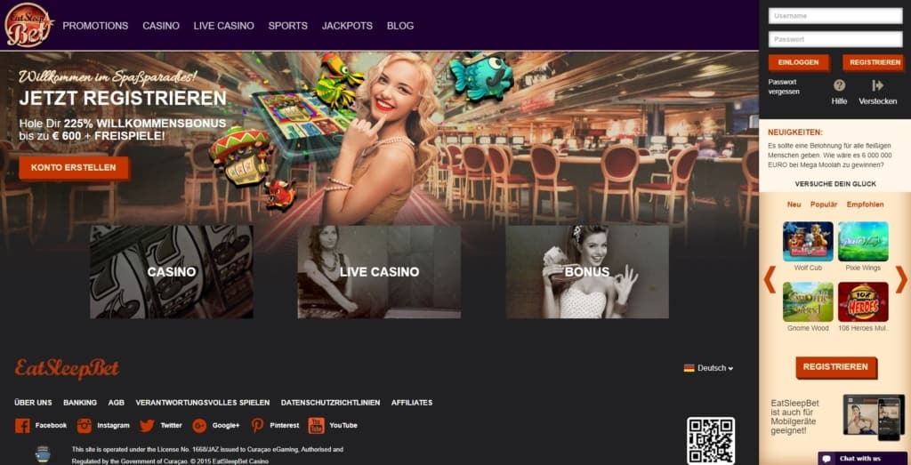 Eat Sleep Bet Netent Casino Startseite