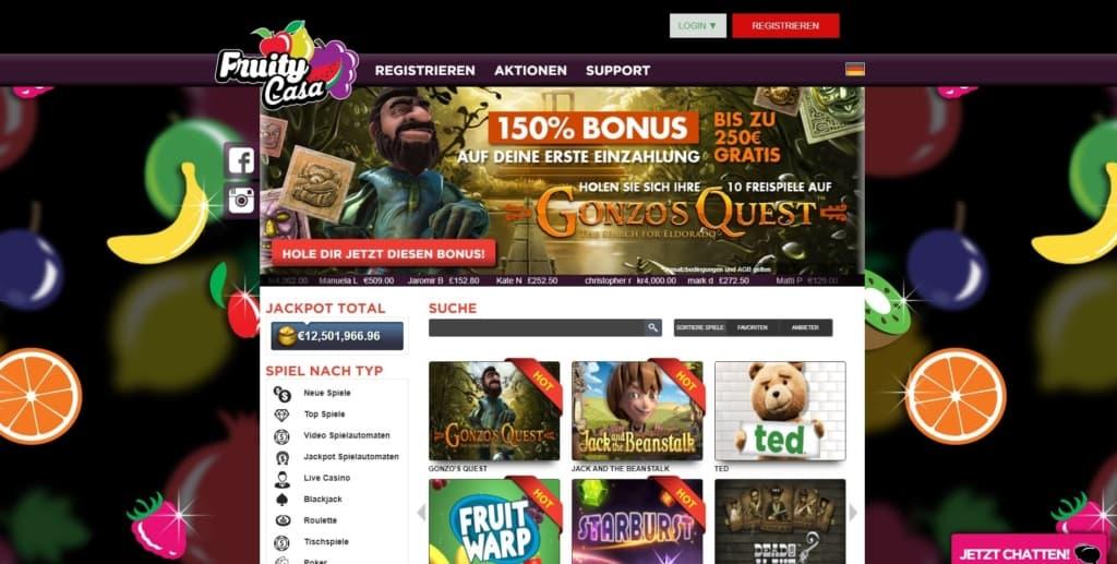 ruity Casa Netent Casino Startseite