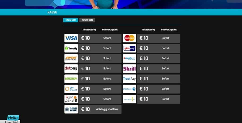Hello Netent Casino Zahlungsmethoden