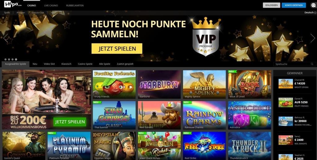 Hopa Netent Casino Startseite