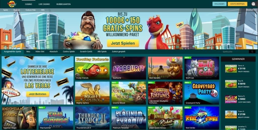 Luckland Netent Casino Startseite