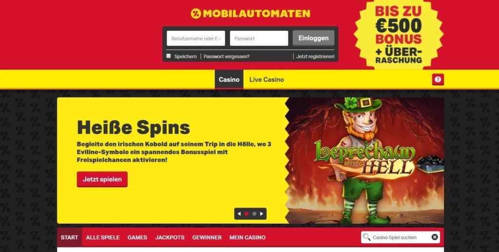 Mobilautomaten Netent Casino Startseite