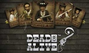 dead or alive netent casino logo