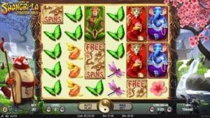 Netent Casino The Legend of Shangri-La Bonus