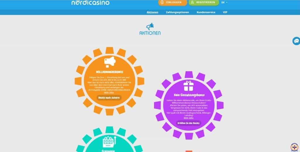 Nordi Casino Bonus