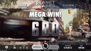 planet of the apes netent casino mega gewinn