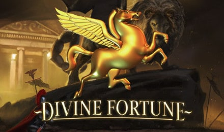 Divine Fortune Jackpot Netent Casino Logo