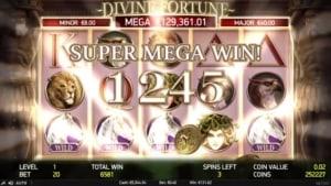 Divine Fortune Jackpot Netent Casino Mega Gewinn