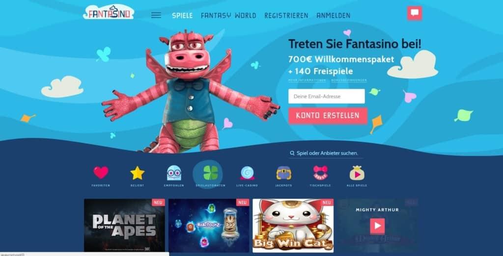 Fantasino Netent Casino Startseite