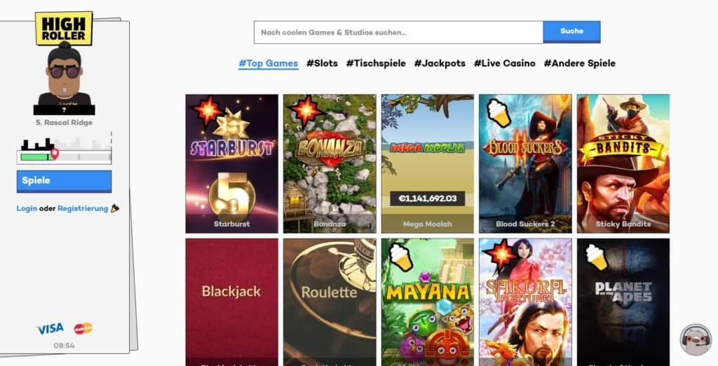 Highroller Netent Casino Startseite