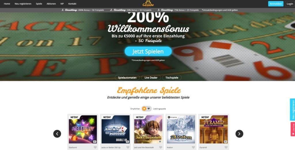 Casimba Netent Casino Startseite