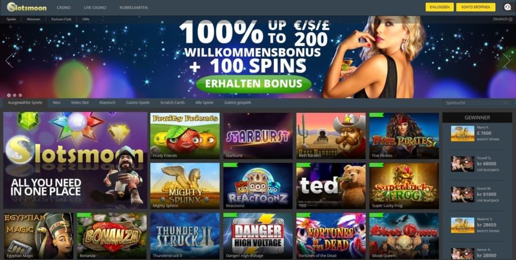 Slotsmoon Netent Casino Startseite