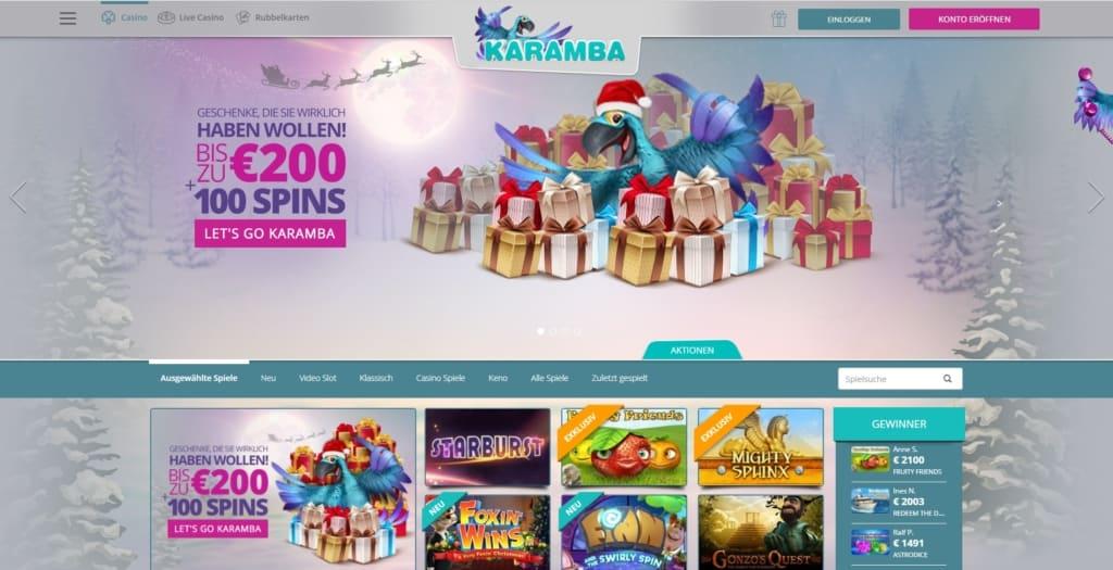 Karamba Netent Casino Startseite